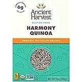 Ancient Harvest Organic Quinoa, Harmony Tri-Color Blend, 12 oz. Box, Essential Gluten-Free Whole Grain Quinoa Mix Packed…