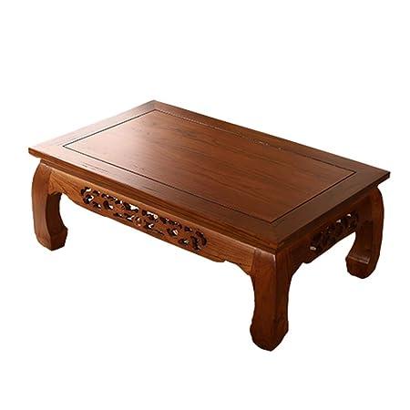 Mesas Tatami Mesa de café Olmo Mesa de Ordenador bajo la Mesa Cama ...
