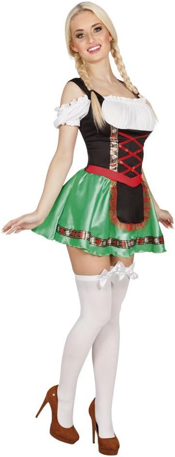 Boland 83616 adultos Disfraz Heidi, 40/42: Amazon.es: Juguetes y ...
