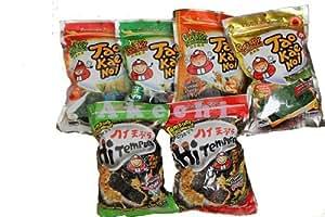 Tao Kae Noi Japanese Crispy Seaweed Bundle(6 Packs) +Free Shipping World Wide