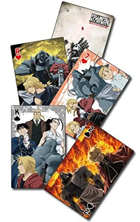 Fullmetal Alchemist Brotherhood Playing Card Series 2 New ge51596 ...