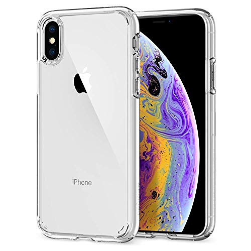 (Spigen Ultra Hybrid Designed for Apple iPhone Xs Case (2018) / Designed for Apple iPhone X Case (2017) - Crystal Clear)