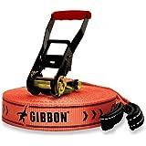 GIBBON Slacklines Classicline Red Edition XL 82-Feet Slackline Set