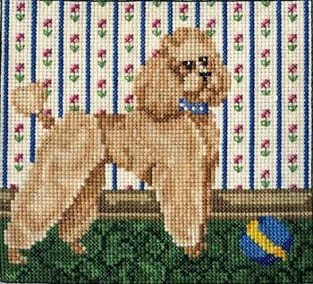 Pegasus Originals Poodle in Dutch Clip Counted Cross Stitch Chart (Dutch Clip)
