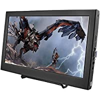 cocopar11.6 Inch 1080P HDMI Screen 19201080 Portable HD Display VGA Monitor for Raspberry Pi 3/PS3/PS4/XBOXONE/WINDOWS 7 8 10
