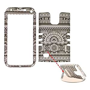 Unlimited Cellular SAMGS5MINI-RSNAP-TE882 Rocker Series Snap-On Protector Case for Samsung Galaxy S5 Mini, Tribal