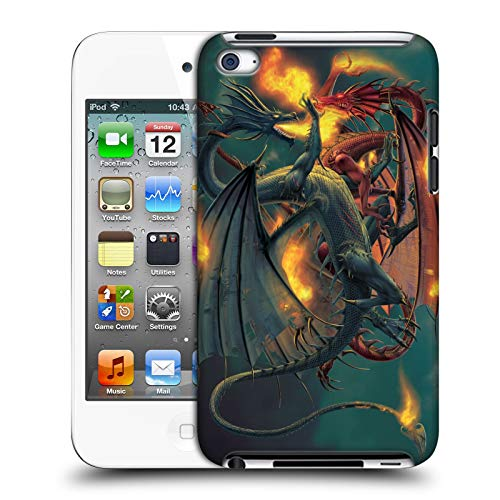 (Official Vincent HIE Clash of The Titans Dragons Hard Back Case for Apple iPod Touch 4G 4th Gen)