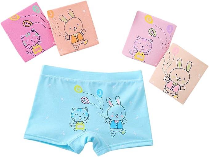 Enfants Sous-vêtements Cartoon Bébé Fille Short Culotte enfants Slips Cadeau