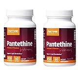 Jarrow Formulas Pantethine Coenzyme A Precursor for Healthy Lipid Metabolism 450 miligrams (60 Softgels) Pack of 2