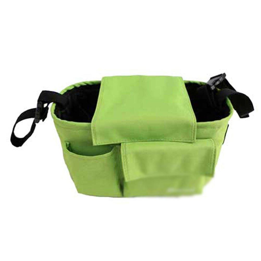 GREEN Baby Infant Stroller Parent Cup Holder Bag Toddler Jogger Liquid Holster