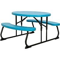 LIFETIME Mesa Plegable Picnic, Resistente, Infantil UV100, Plastic