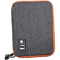 ibasenice Bolsa organizadora eletrônica, bolsa portátil para acessórios digitais, bolsa organizadora de armazenamento de…