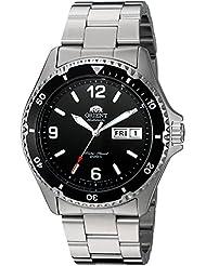 Orient Mens FAA02001B9 Mako II Analog Automatic Hand-Winding Silver Watch