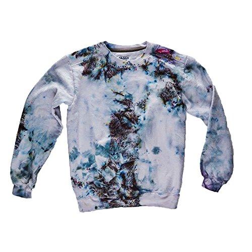Confetti Tie Dye Sweatshirt Unisex Festival Hoodie Grateful dead Plus Size S, M, L, XL, XXL]()