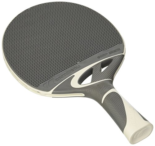 Cornilleau Tacteo 50 Weatherproof Table Tennis Racket – Gray White