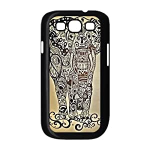 Customize Animal Aztec Elephant Back Cover Case for Samsung Galaxy S3 i9300