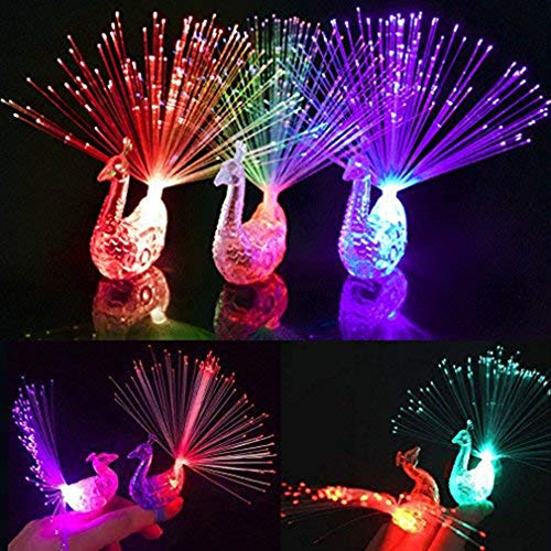 Dsaren Wedding Favors for Kids, 10 Pcs LED Colorful Finger Lights Party Supplies Magic Light for Concert, Shows, Wedding and Festival ...