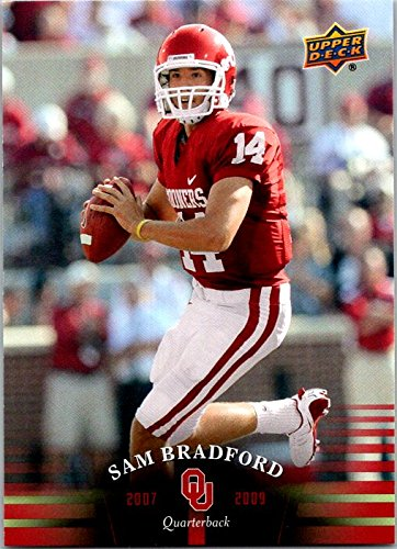 2011 Upper Deck Oklahoma #74 Sam Bradford Oklahoma Sooners