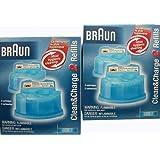 Braun Clean&Renew Cart Shaver Refills - 2 ct - 2 pk