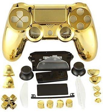 Canamite® - Funda cromada para mando de PS4 Playstation 4 Dualshock, PS4, dorado: Amazon.es: Deportes y aire libre