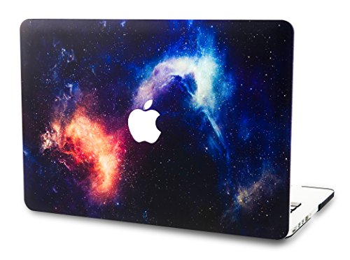 "KECC Laptop Case for Old MacBook Pro 13"" (CD Drive) w/Keyboard Cover Plastic Hard Shell Cover A1278 2 in 1 Bundle (Nebula)"