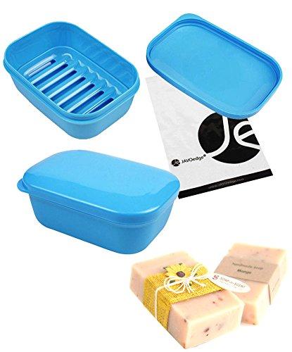 JAVOedge Blue Rectangle Storage / Travel - Storage Dish Box Shopping Results