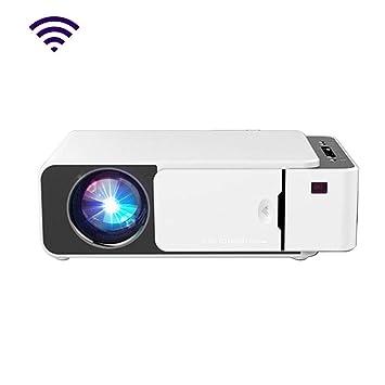 HongLianRiven Proyector de vídeo HD móvil 1280x720dpi -25x17.1x7 ...