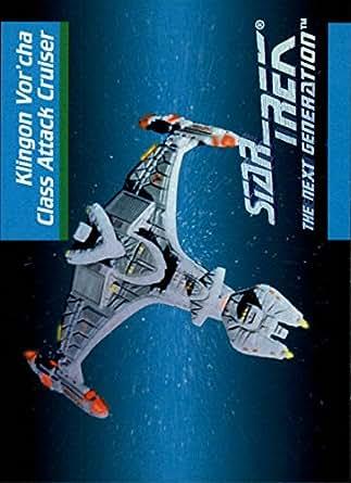 1992 Star Trek The Next Generation #33 Klingon Vor'Cha Class Attack Cruiser - NM-MT