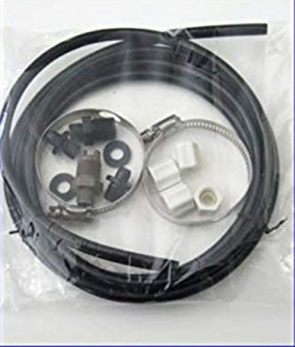 - Hayward CL220 Off Line Pool Chlorinator Feeder Hose Tubing Nuts Clamps Parts Kit