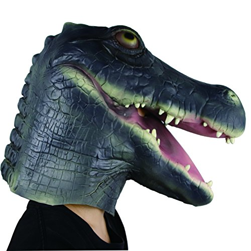 Waylike Halloween Costume Party Animal Mask Crocodile -