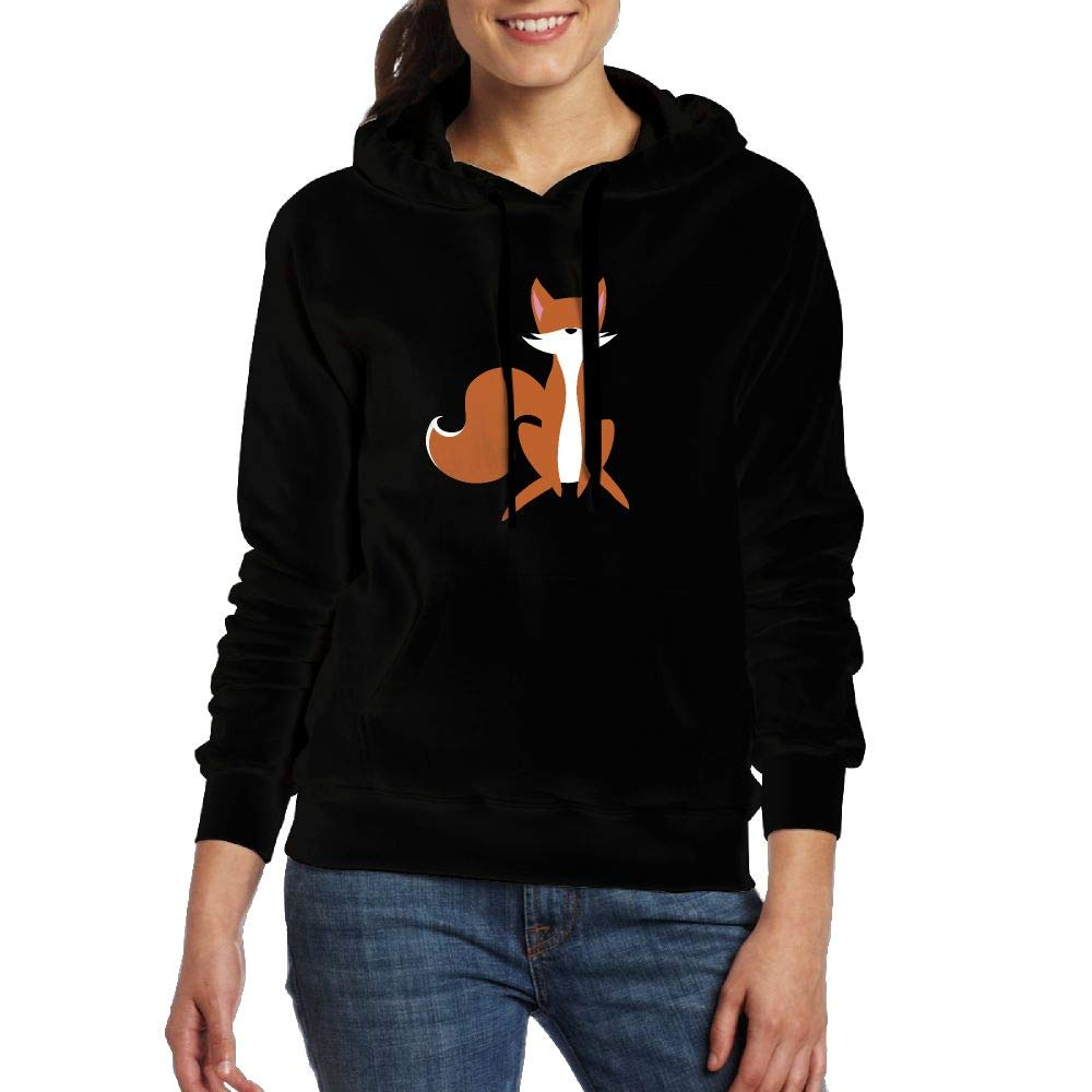 Amazon.com: Cartoon Fox Hoodie Pullover Sweatshirts with Pockets for Women: Clothing