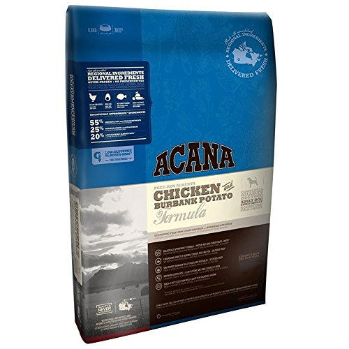 Acana Chicken & Burbank Potato - 15 lb