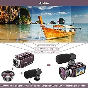 Ablue 4K Ultra-HD Portable 30FPS Wifi Digital Video Camera by Ablue