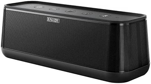 Anker SoundCore Pro 25W Bluetooth Speaker with Superior Bass and High Definition Sound - Premium Portable Wireless Speaker with 4 Drivers, 18h Playtime, Splashproof for iPhone, Samsung etc.