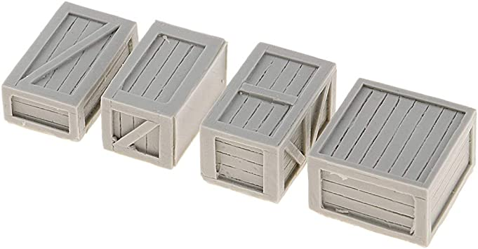 Bonarty 1/35 Mini Soldado Figura Ciudad Ruinas Juego de Lucha Accesorios para Maqueta - Caja de 4 Piezas (3.5-4cm): Amazon.es: Juguetes y juegos