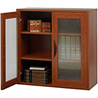 Storage Bookcase with Doors 30-in. High -