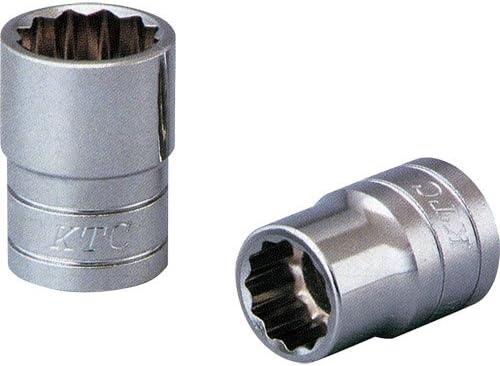 京都機械工具(KTC) ソケット 12角 B4-14W 対辺寸法:14×差込角:12.7mm 1個