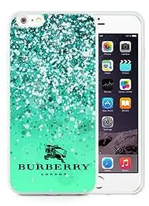 iPhone 6 Plus Case,Burberry 39 White iPhone 6 Plus 5.5 inches Screen TPU Phone Case Genuine and Luxury Design