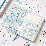 Moleskine Doraemon Limited Edition Notebook, Large, Ruled, White, Hard Cover (5.5x8)