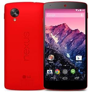 LG Google Nexus 5 D820 Red 32GB GSM Unlocked (Certified Refurbished)