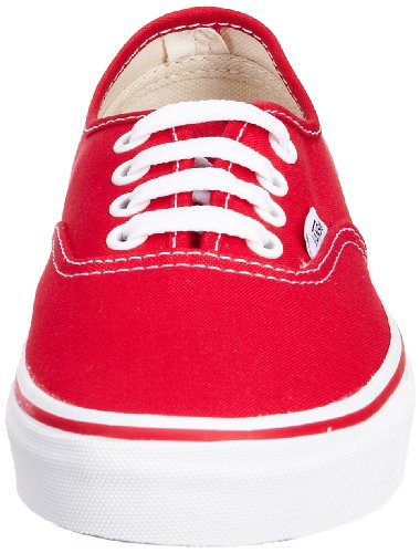 Red Vans Authentic Authentic Vans Vans Red Red Vans Authentic Red Authentic 5Rw6T