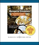 Managerial Economics, Thomas and Maurice, 0071221204