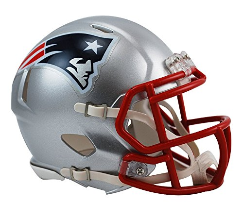 - NFL New England Patriots Revolution Speed Mini Helmet