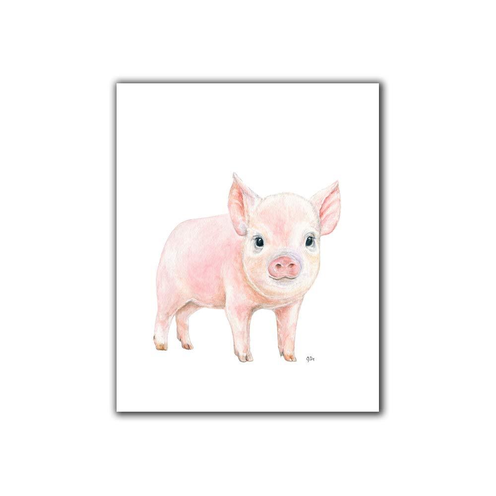 Wall sticker child/'s bedroom nursery little pig