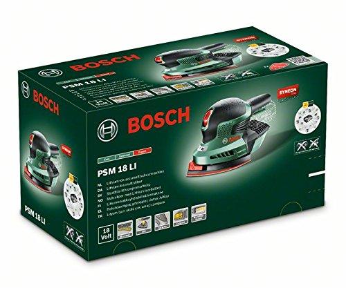 bosch psm 18 li levigatrice palmare con batteria al litio corpo macchina ebay. Black Bedroom Furniture Sets. Home Design Ideas