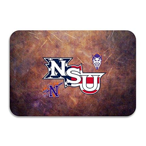 SARHT Northwestern State University NSU Demons Logo Non-slip Doormat (Skully And Green Demon)