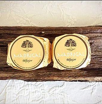 LaCasadeTé - Alfajores artesanales Madrigal - Azúcar Glass, 12 Unidades: Amazon.es: Alimentación y bebidas