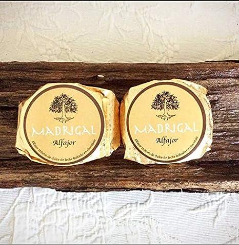 LaCasadeTé - Alfajores artesanales Madrigal - Chocolate, 6 Unidades: Amazon.es: Alimentación y bebidas