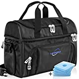 Lavington Insulated Cooler Bag - Large Lunch Bag - Picnic and Travel Lunch Box- Multiple Pockets & Insulated Compartments - Strongest SBS Zippers & Handles