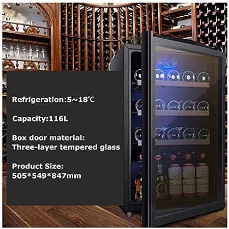 EVEN Wine Cooler/Chiller | Bodega De Vino Tinto Y Blanco | FreeStanding Refrigerator, Refrigerador silencioso | Acero Inoxidable
